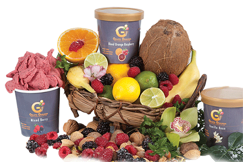 Gelato Giuliana Flavors and Ingredients